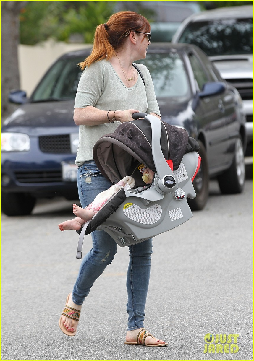 alyson hannigan girls day out with keeva 082898746