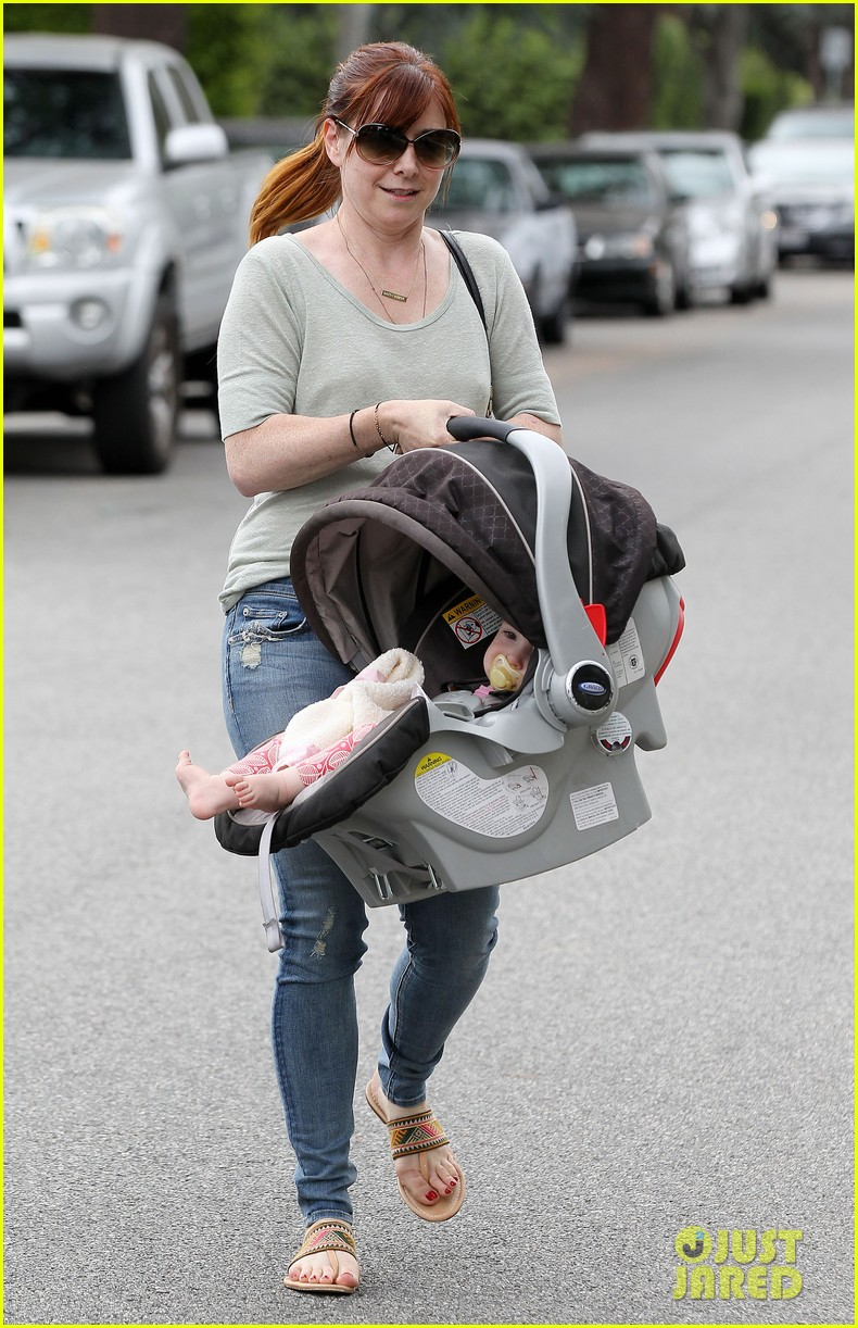 alyson hannigan girls day out with keeva 132898751
