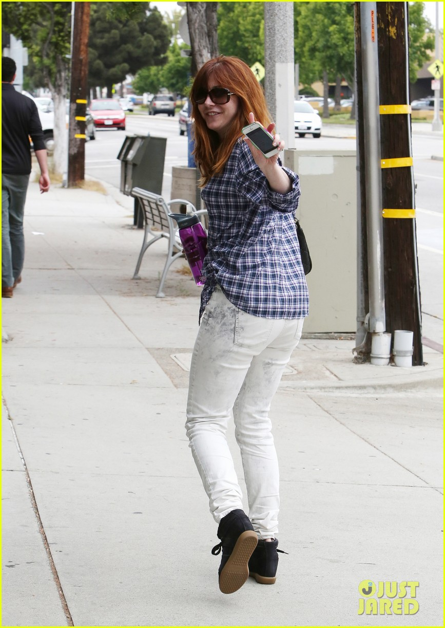 alyson hannigan girls day out with keeva 162898754