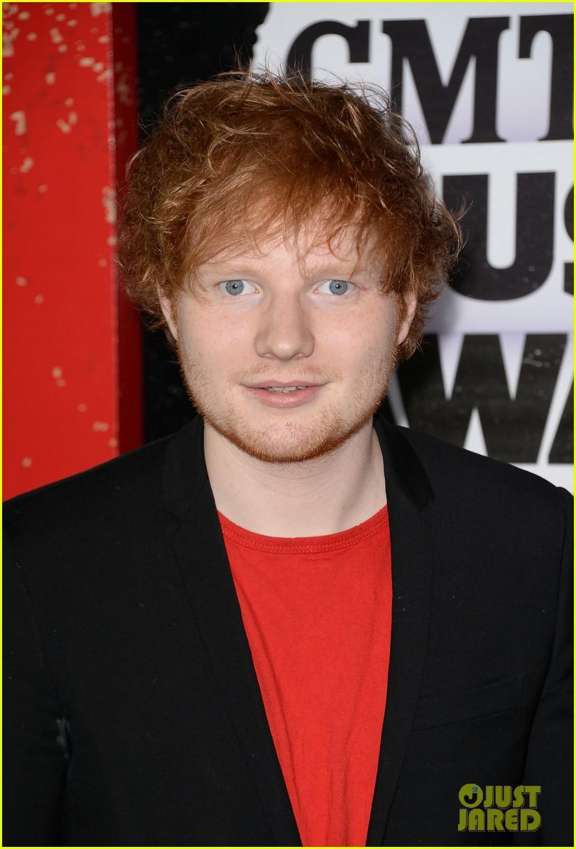 hunter hayes ed sheeran cmt music awards 2013 04