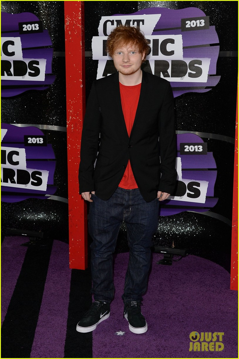 hunter hayes ed sheeran cmt music awards 2013 052885193