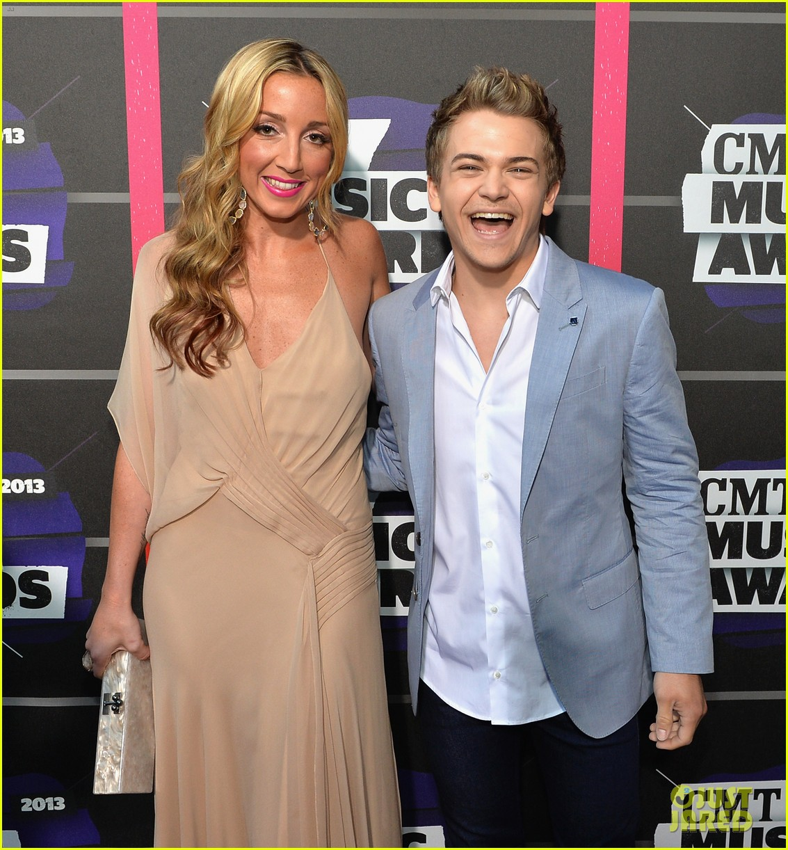 hunter hayes ed sheeran cmt music awards 2013 122885200