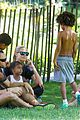 heidi klum martin kirsten take the kids to the park 28