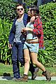 josh hutcherson claudia traisac kiss after motorcycle ride 01