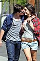 josh hutcherson claudia traisac kiss after motorcycle ride 14