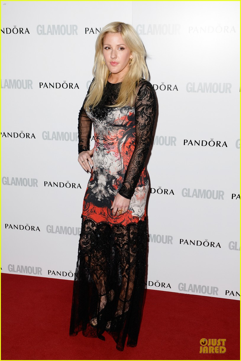 ellie goulding jeremy irvine glamour women of the year awards 2013 red carpet 012884391