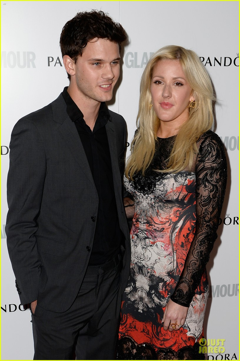 ellie goulding jeremy irvine glamour women of the year awards 2013 red carpet 022884392