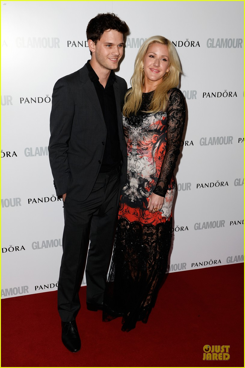 ellie goulding jeremy irvine glamour women of the year awards 2013 red carpet 032884393