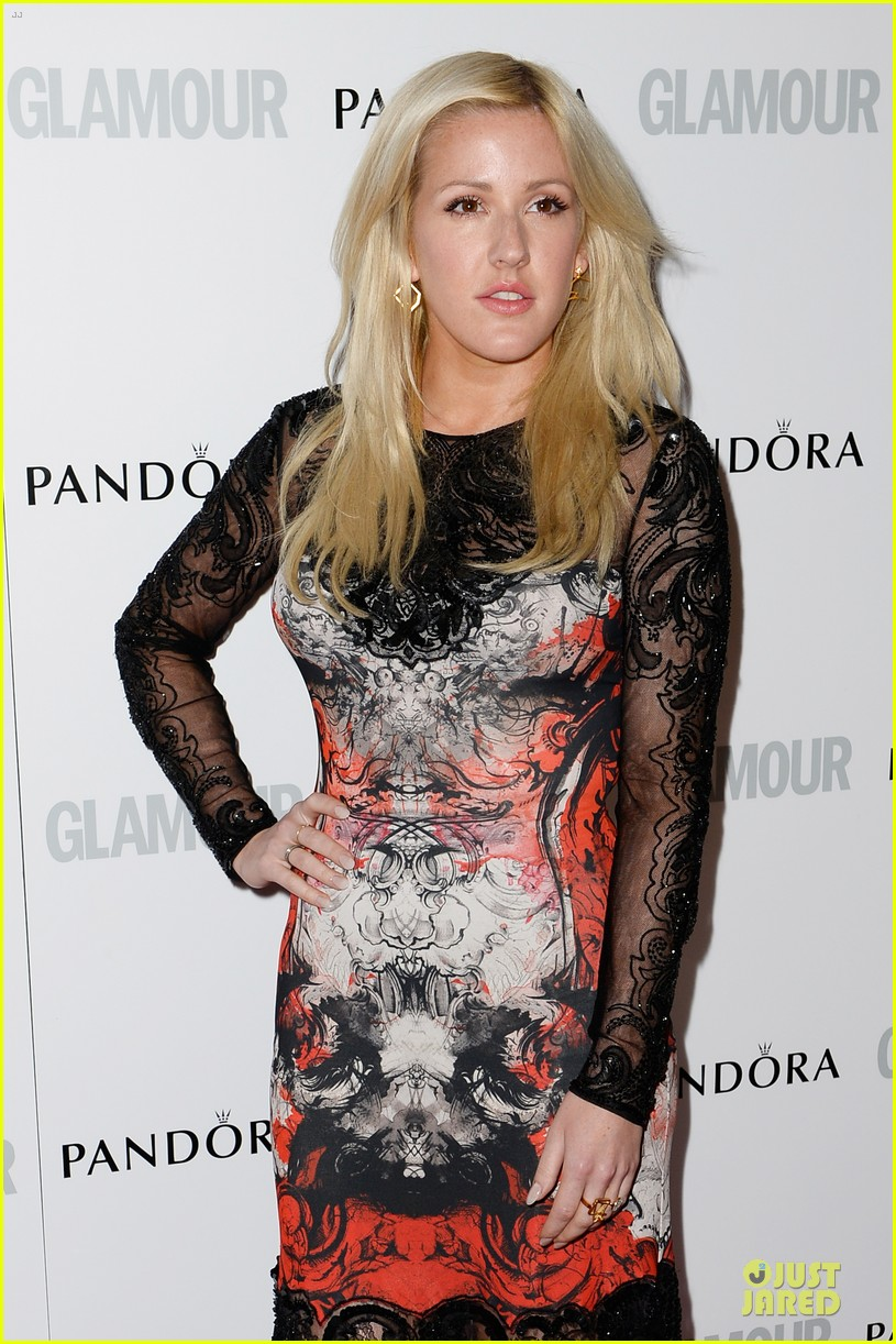 ellie goulding jeremy irvine glamour women of the year awards 2013 red carpet 042884394