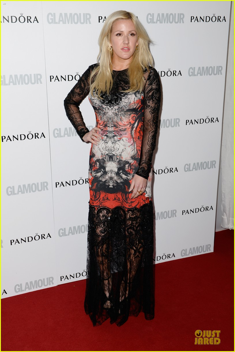 ellie goulding jeremy irvine glamour women of the year awards 2013 red carpet 062884396