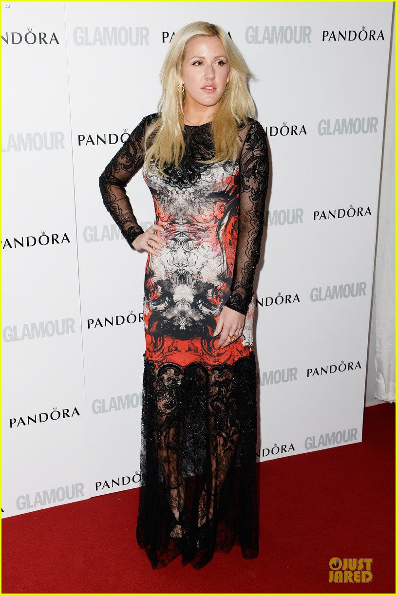 ellie goulding jeremy irvine glamour women of the year awards 2013 red carpet 092884399