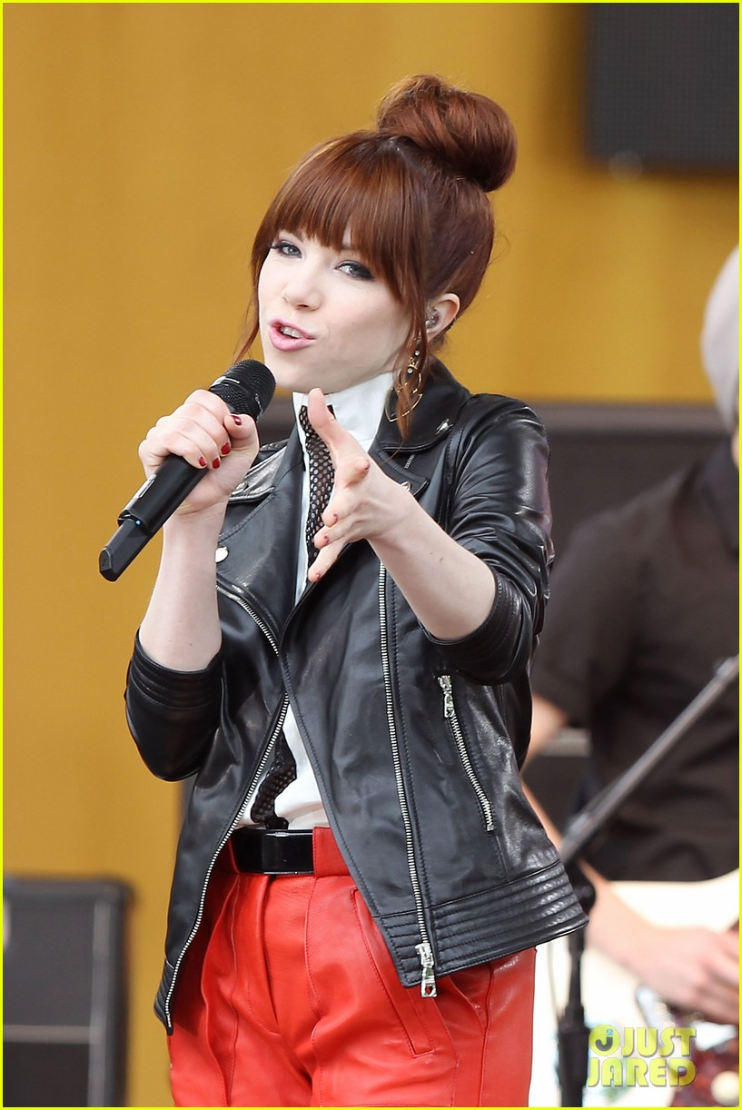carly rae jepsen rocks good morning america 042891239