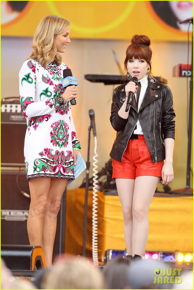 carly rae jepsen rocks good morning america 112891246