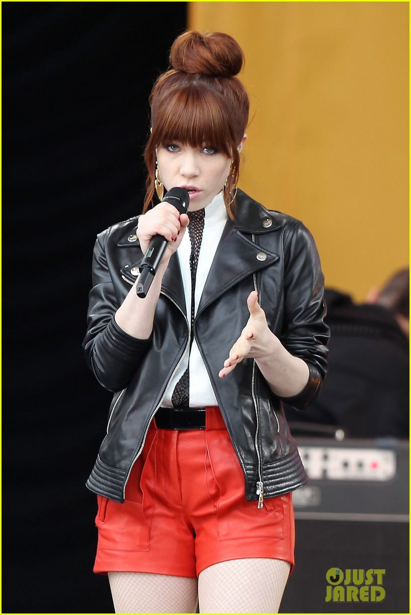 carly rae jepsen rocks good morning america 132891248