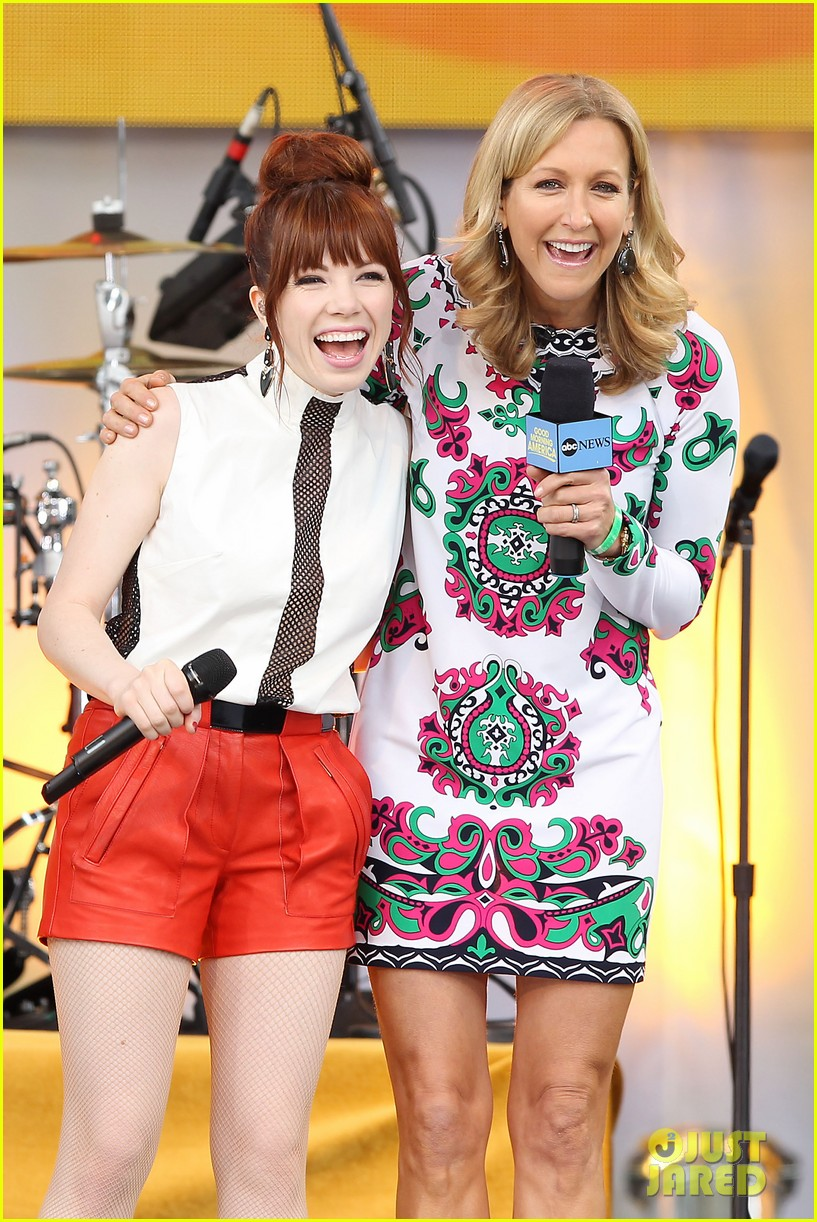 carly rae jepsen rocks good morning america 182891253