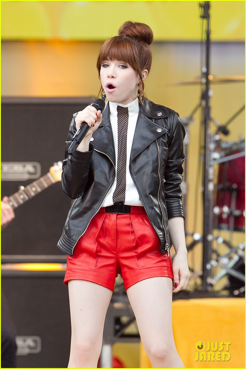 carly rae jepsen rocks good morning america 322891267