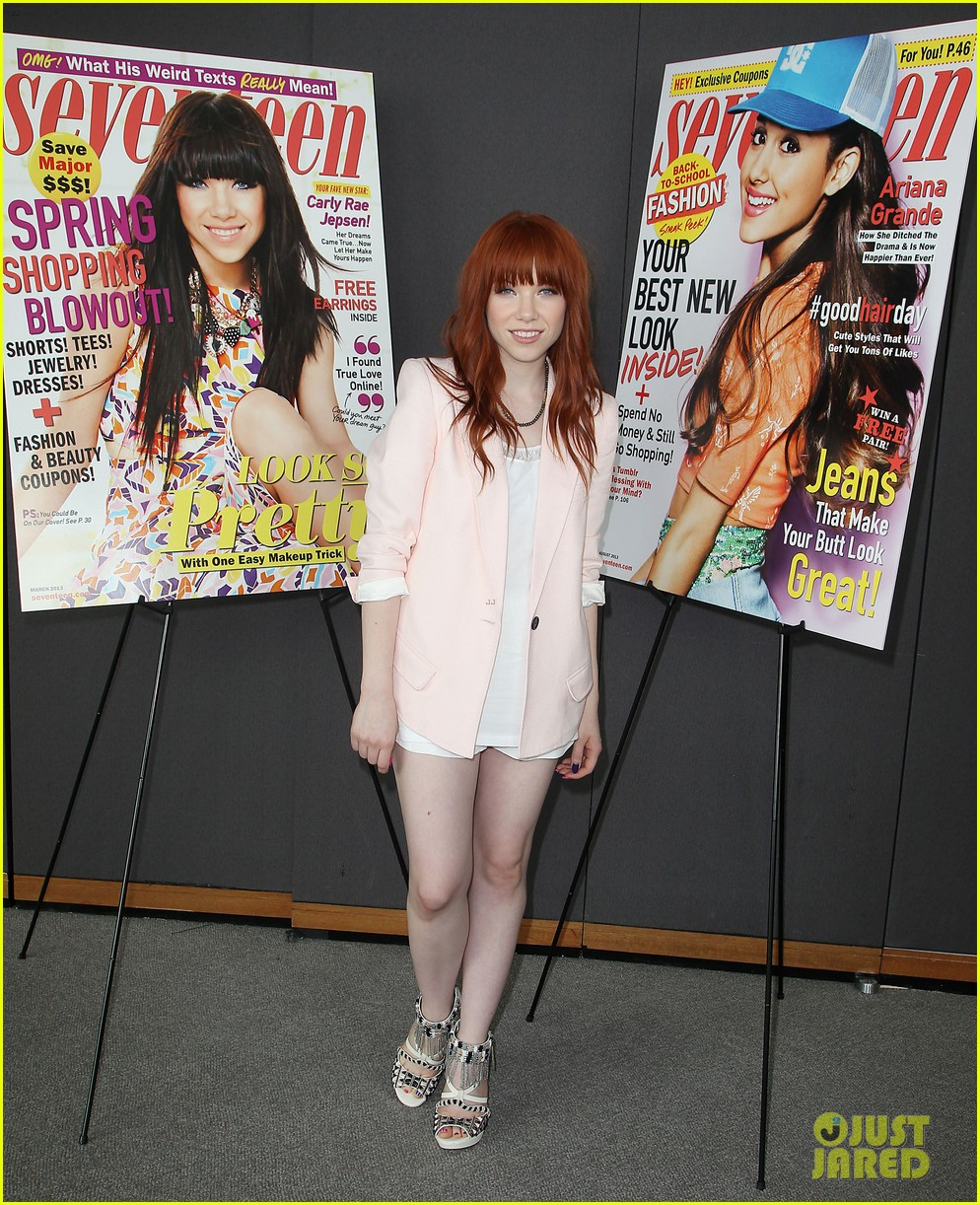 Think, that Carly rae jepsen fakes quite