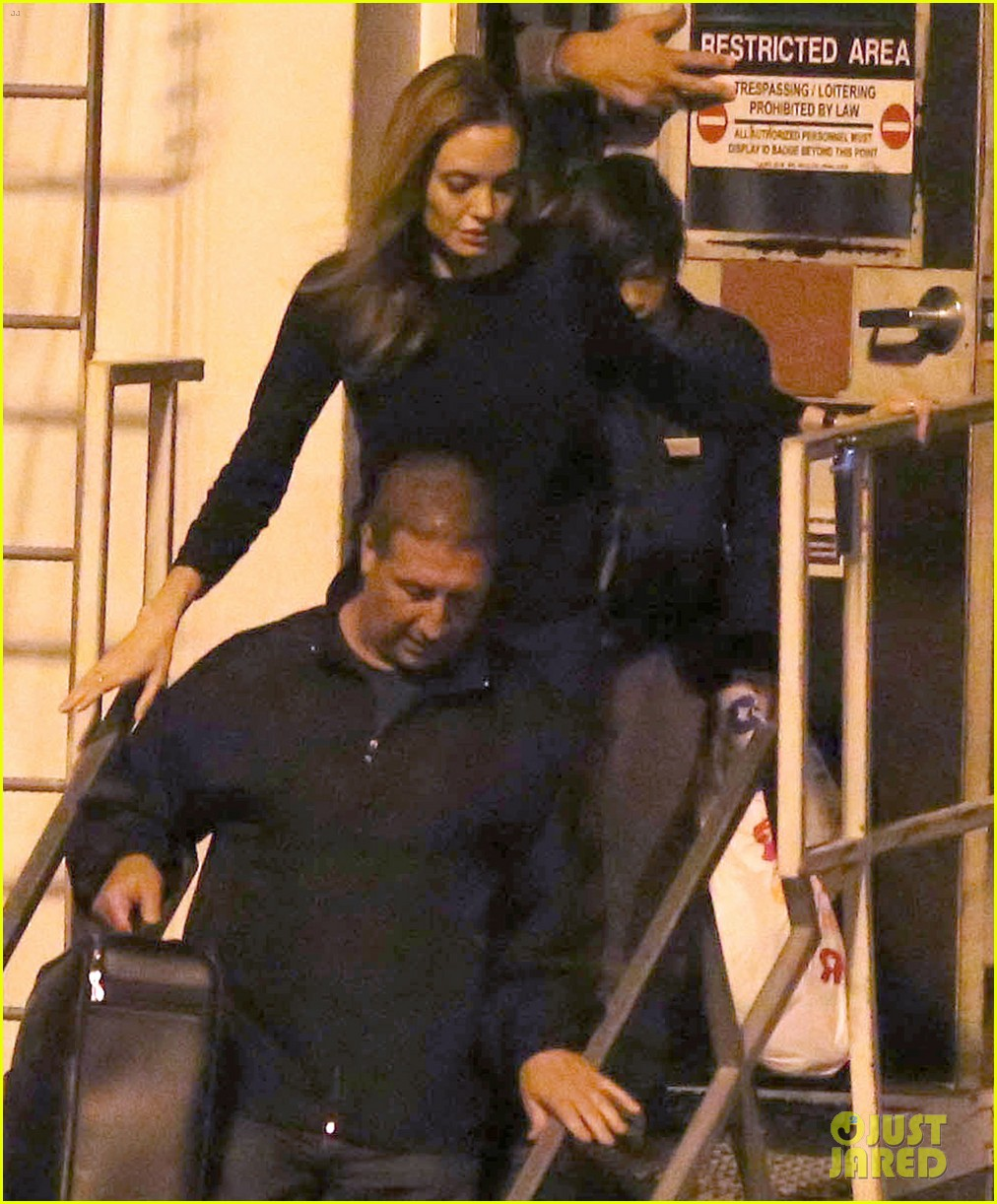 angelina jolie pax lax arrivial after un meeting 072898112