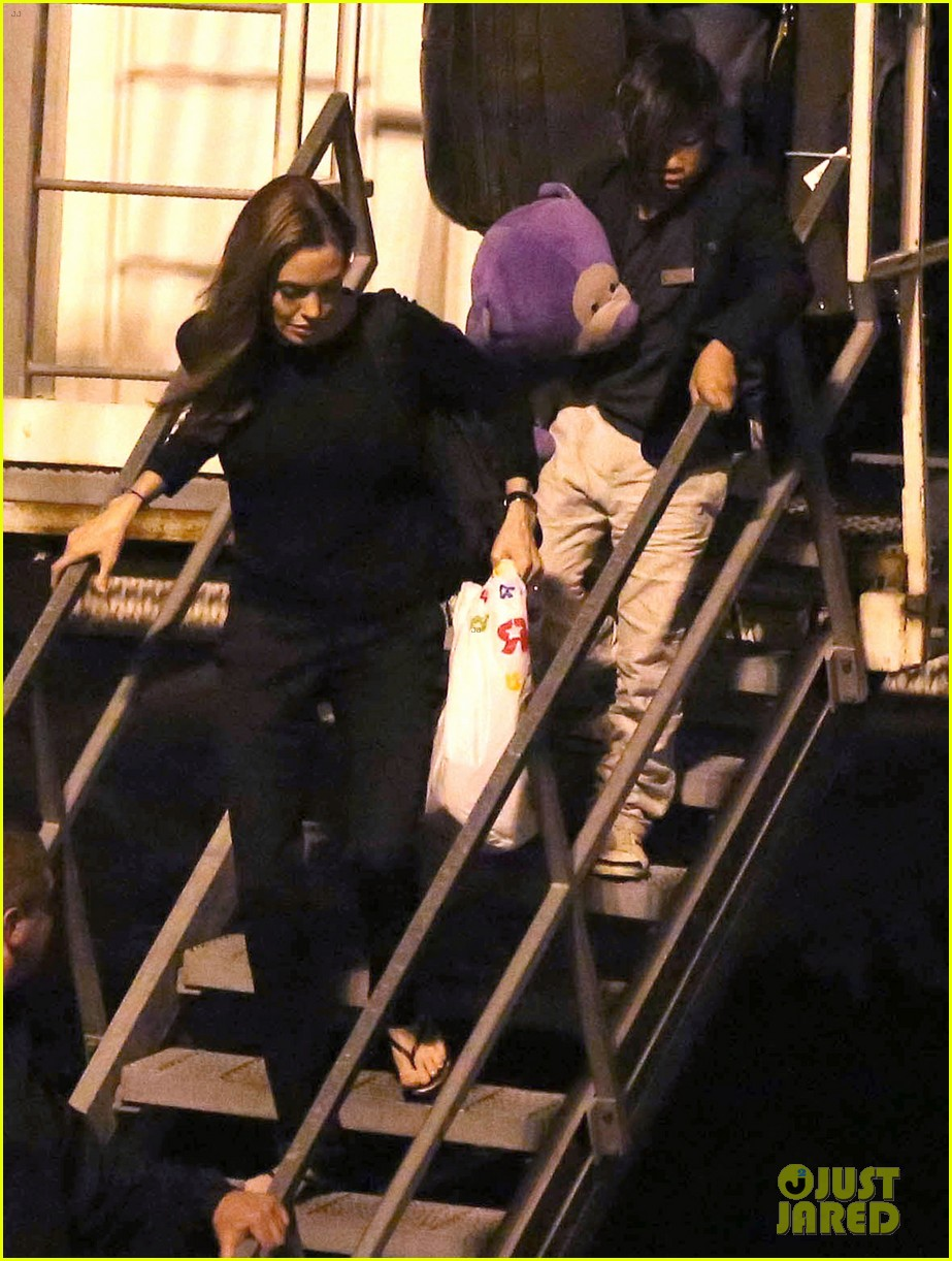 angelina jolie pax lax arrivial after un meeting 082898113