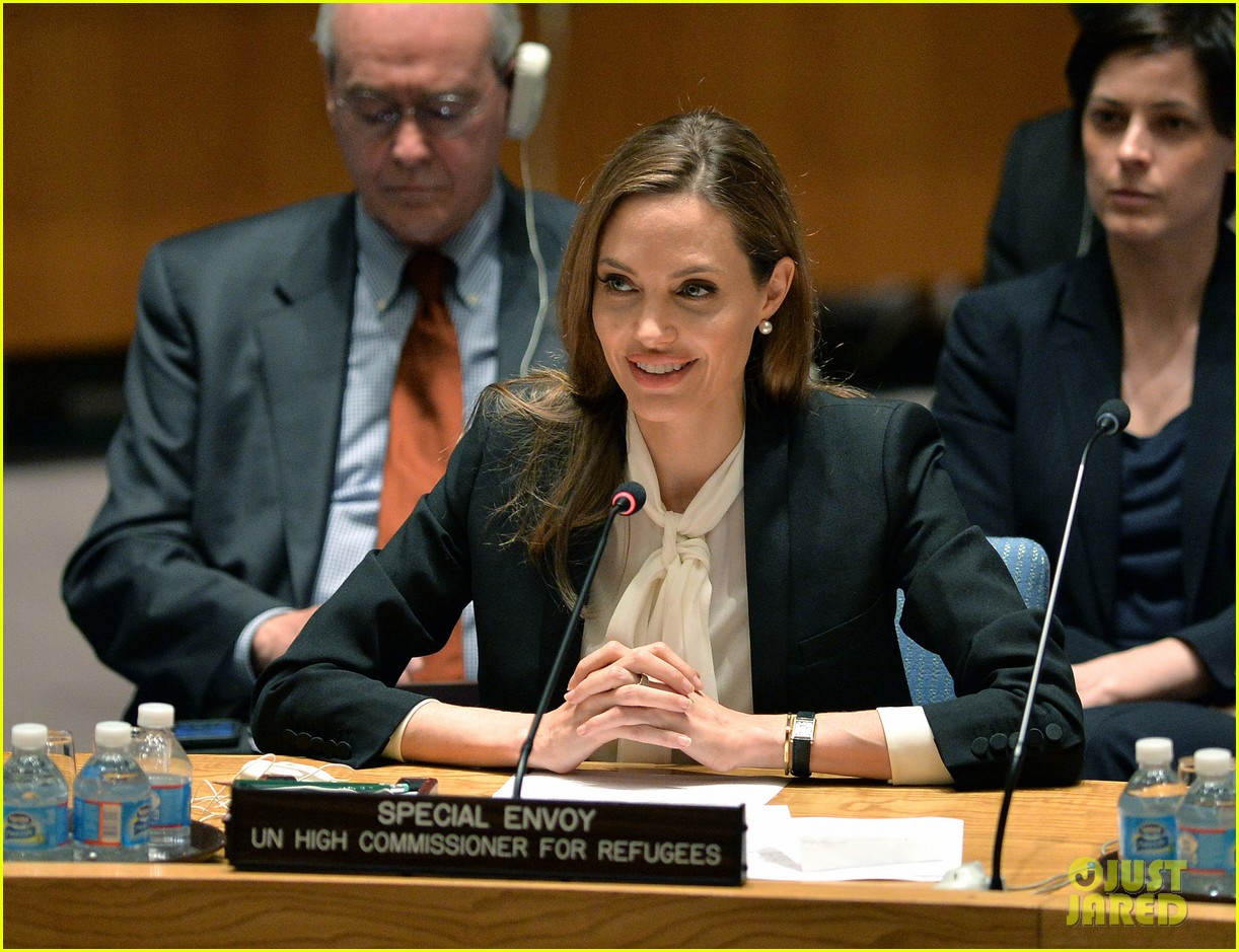 angelina jolie united nations security council meeting 012897720
