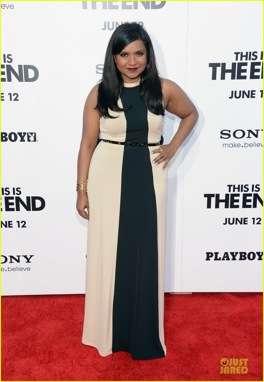 mindy kaling jessica shozr this is the end premiere 012884021