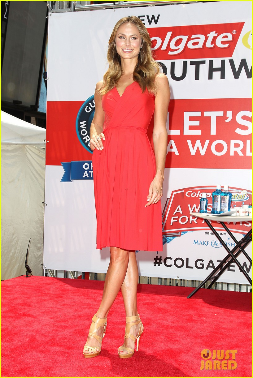stacy keibler wish for a swish benefit 142898263