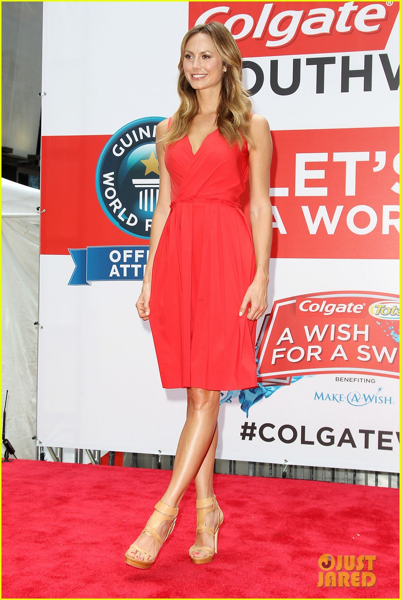 stacy keibler wish for a swish benefit 302898279