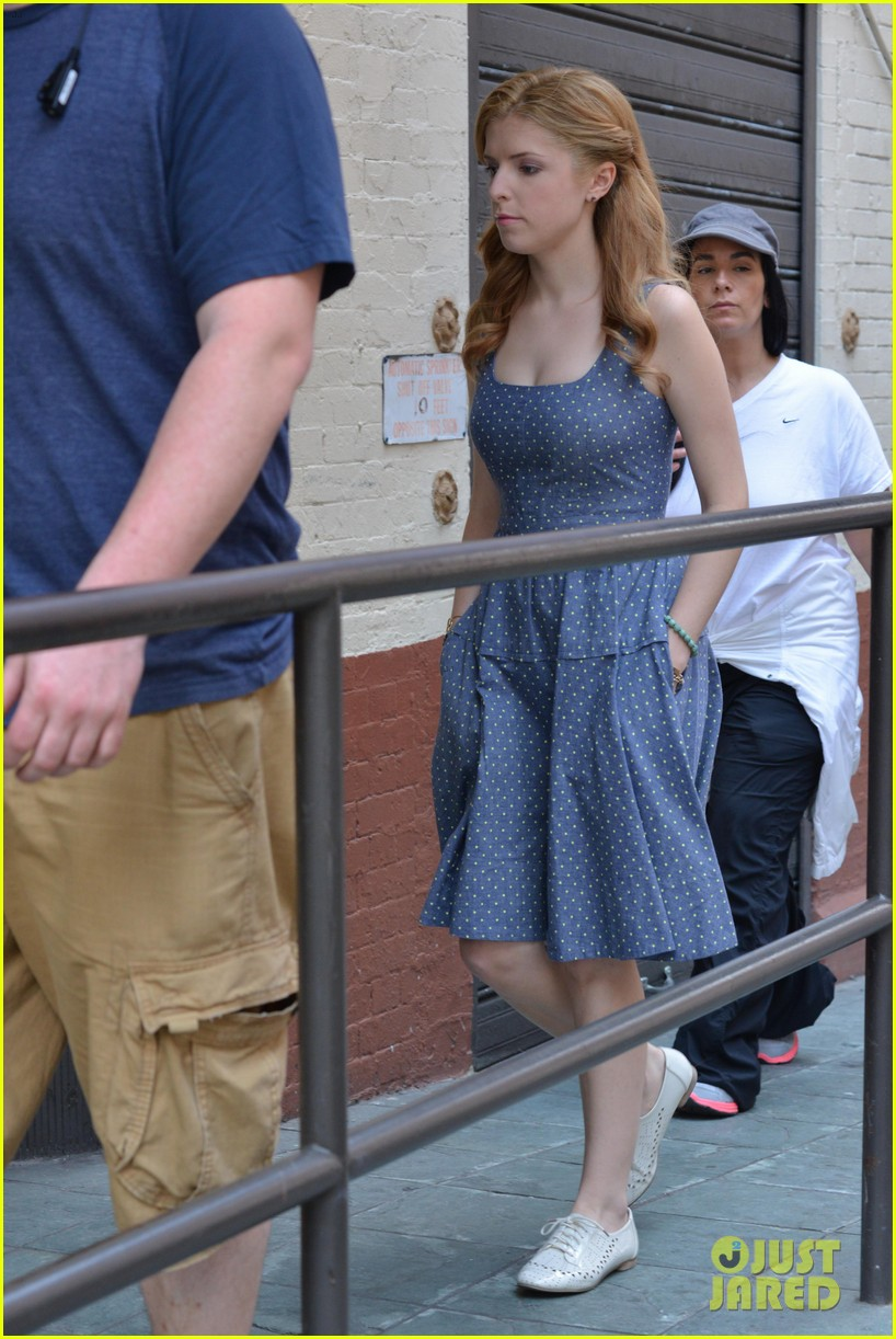 anna kendrick last five years film shoot day two 172894335