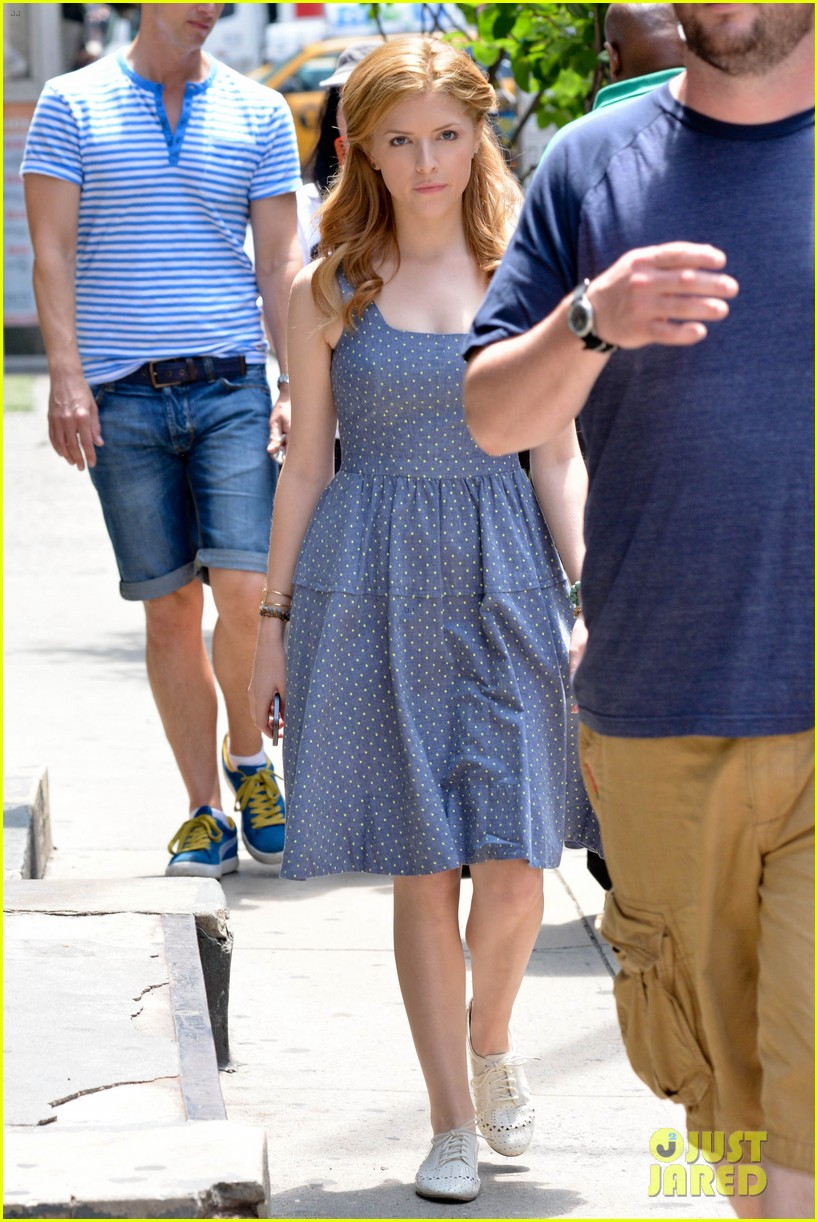 anna kendrick last five years film shoot day two 242894342