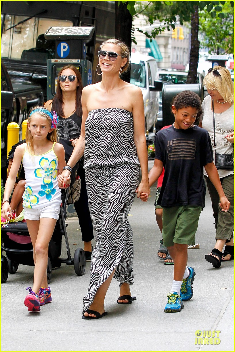 heidi klum i saved my kids hair for art projects 032900692