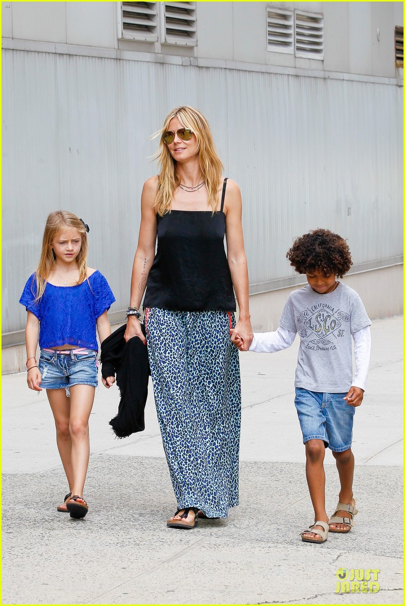 heidi klum i saved my kids hair for art projects 102900699