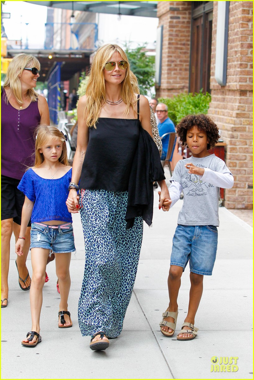 heidi klum i saved my kids hair for art projects 18