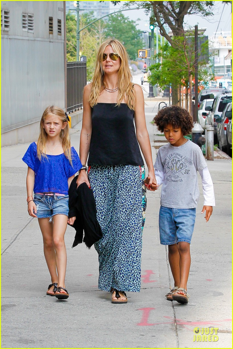 heidi klum i saved my kids hair for art projects 222900711