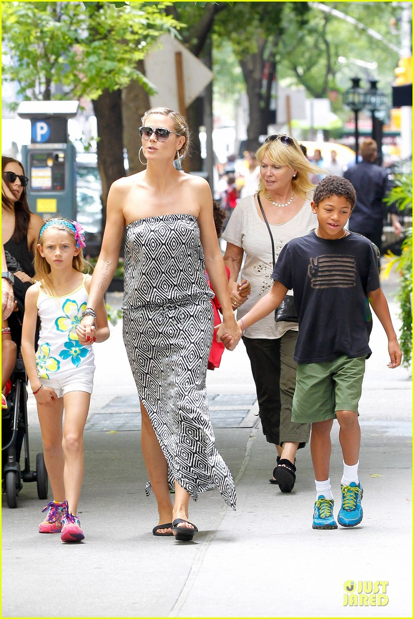 heidi klum i saved my kids hair for art projects 28