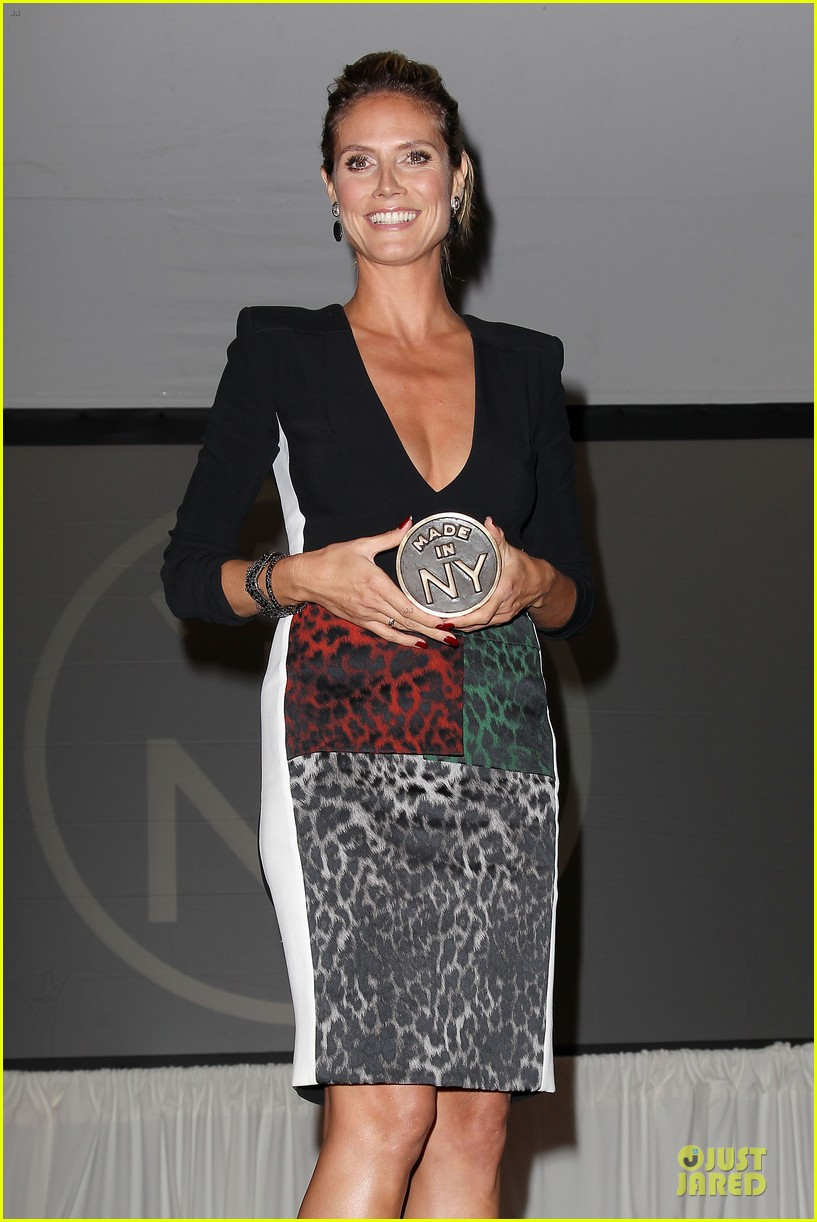 heidi klum made in ny awards honoree 06