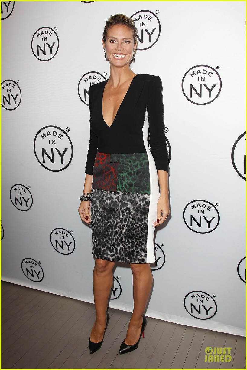 heidi klum made in ny awards honoree 212889619