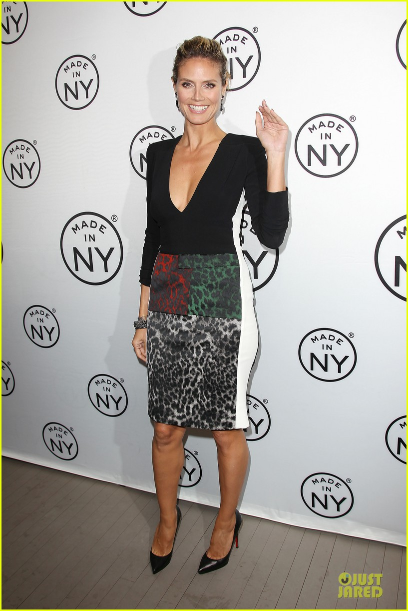 heidi klum made in ny awards honoree 23