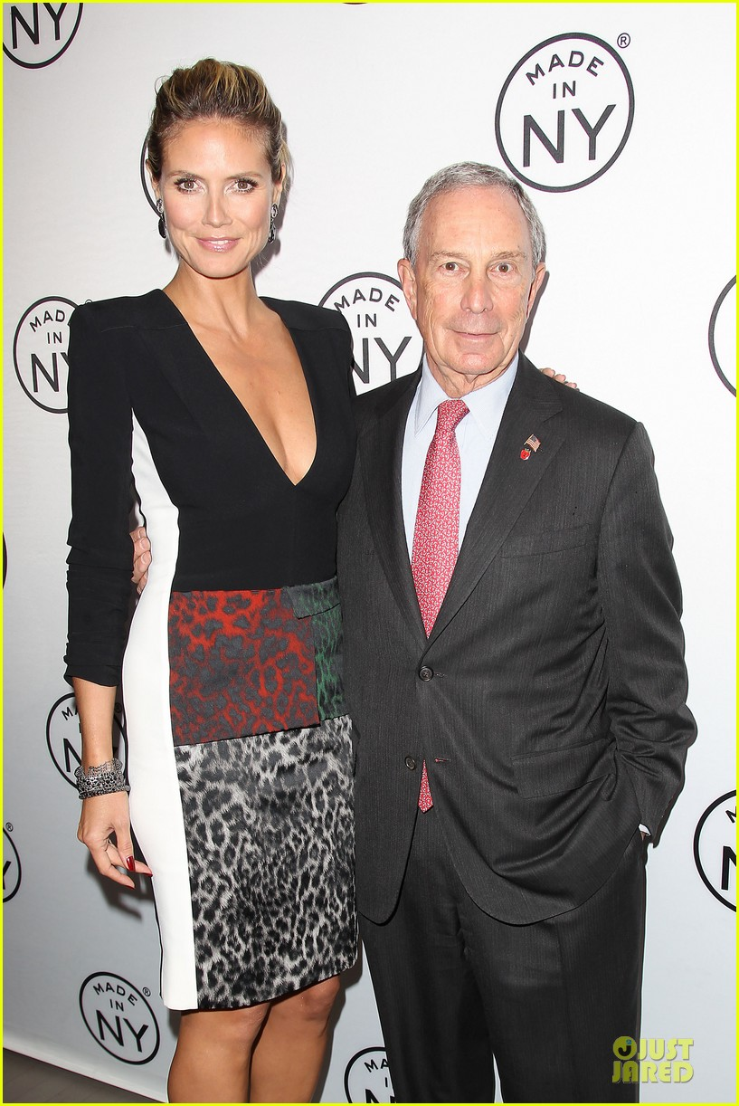 heidi klum made in ny awards honoree 312889629