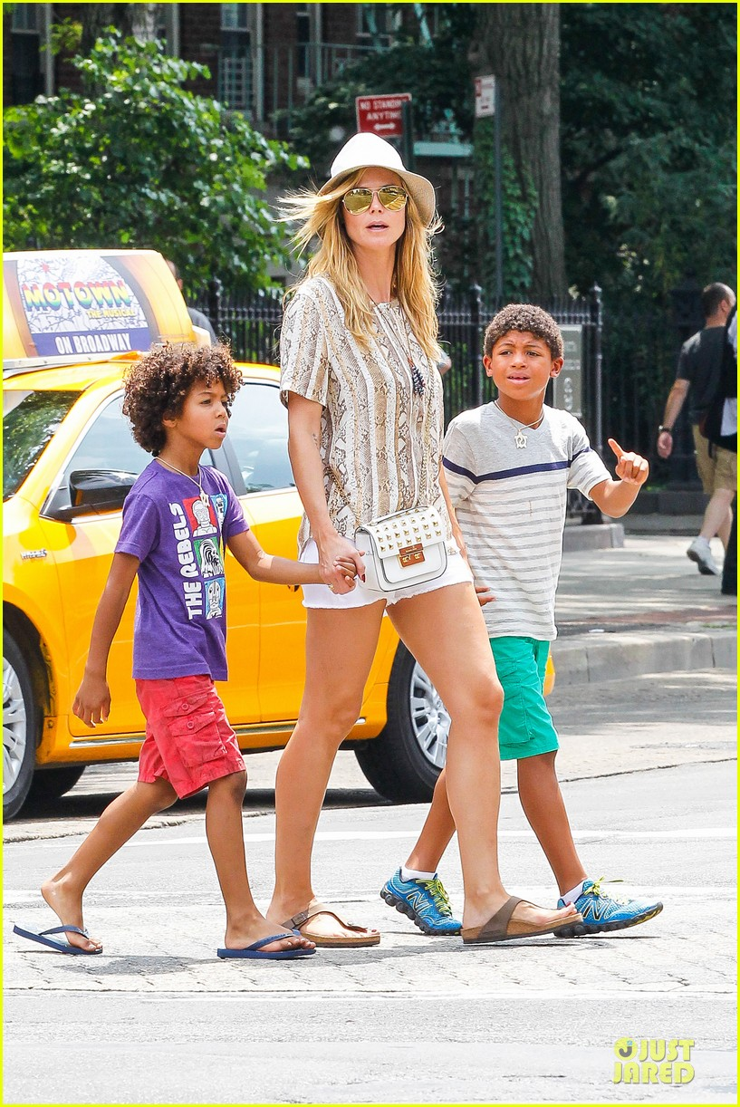 heidi klum martin kirsten bar pitti lunch with the kids 072898043
