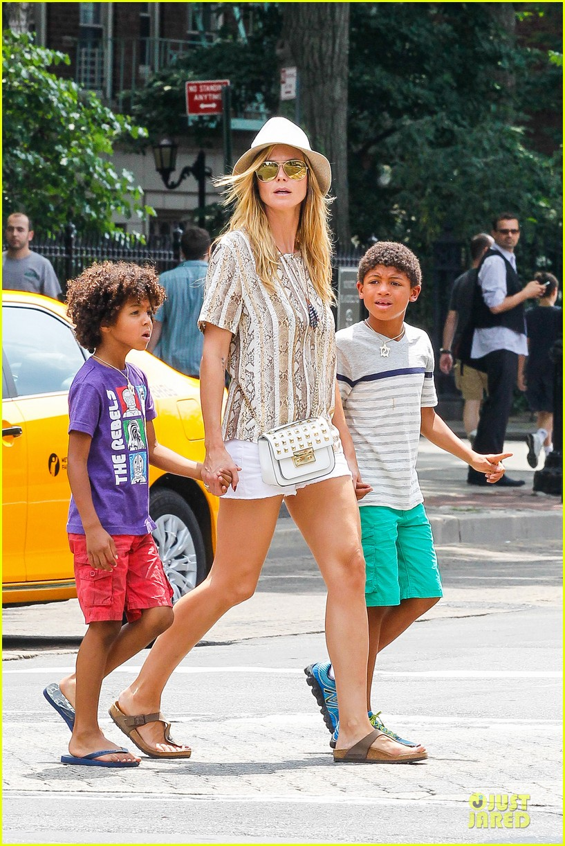 heidi klum martin kirsten bar pitti lunch with the kids 112898047