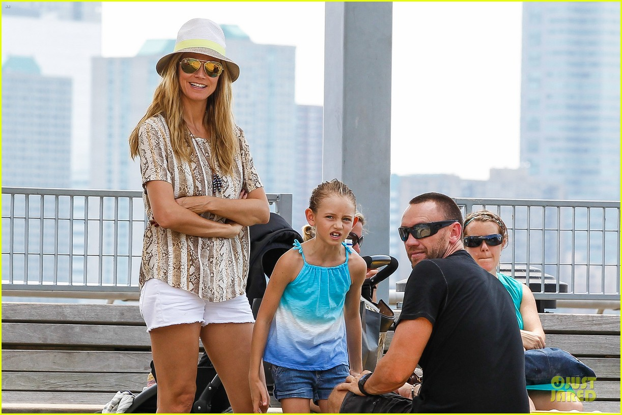 heidi klum martin kirsten bar pitti lunch with the kids 122898048