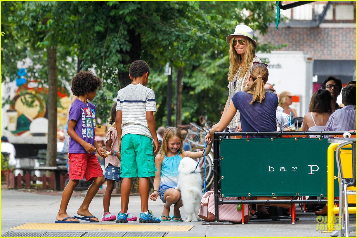 heidi klum martin kirsten bar pitti lunch with the kids 272898063