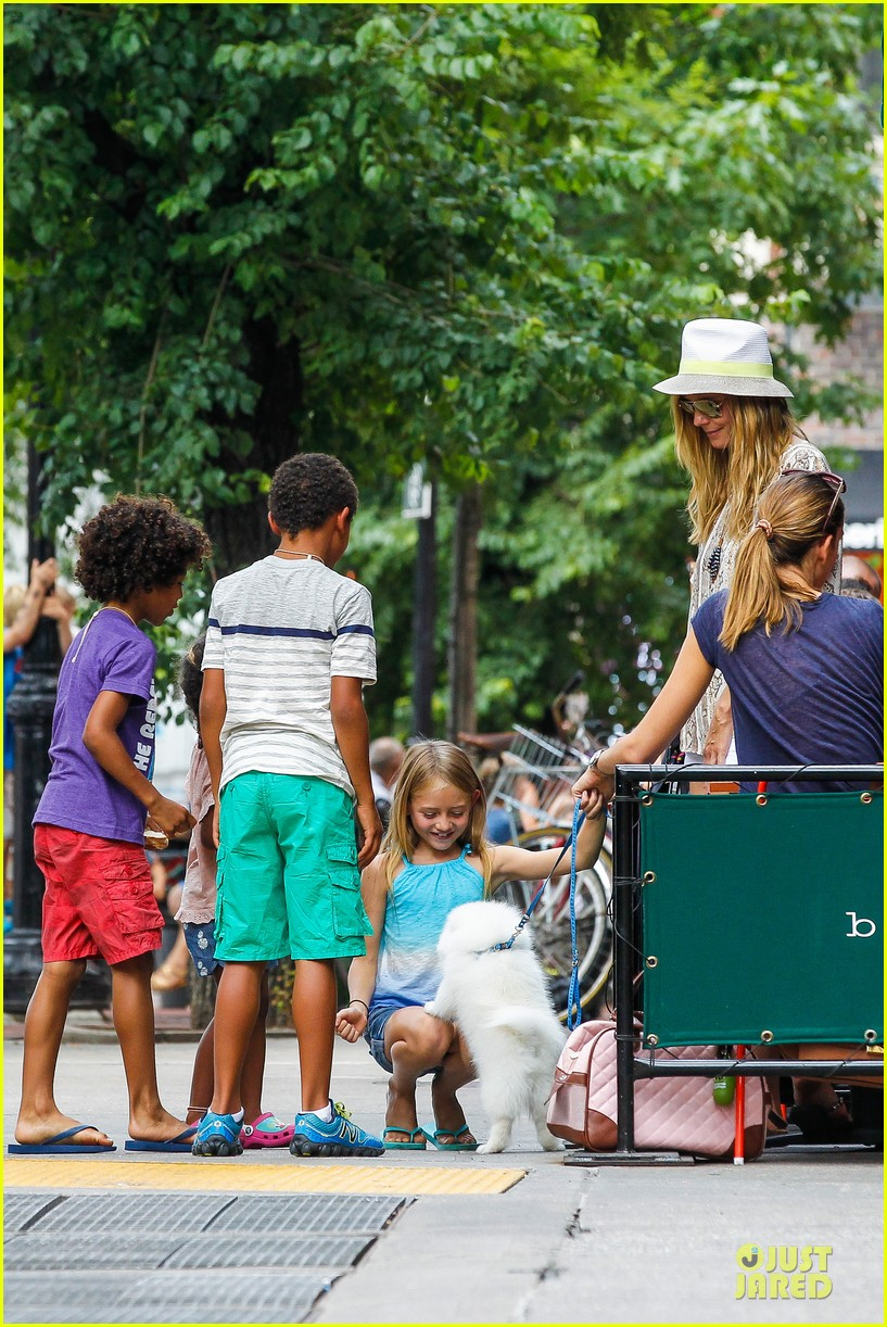 heidi klum martin kirsten bar pitti lunch with the kids 322898068