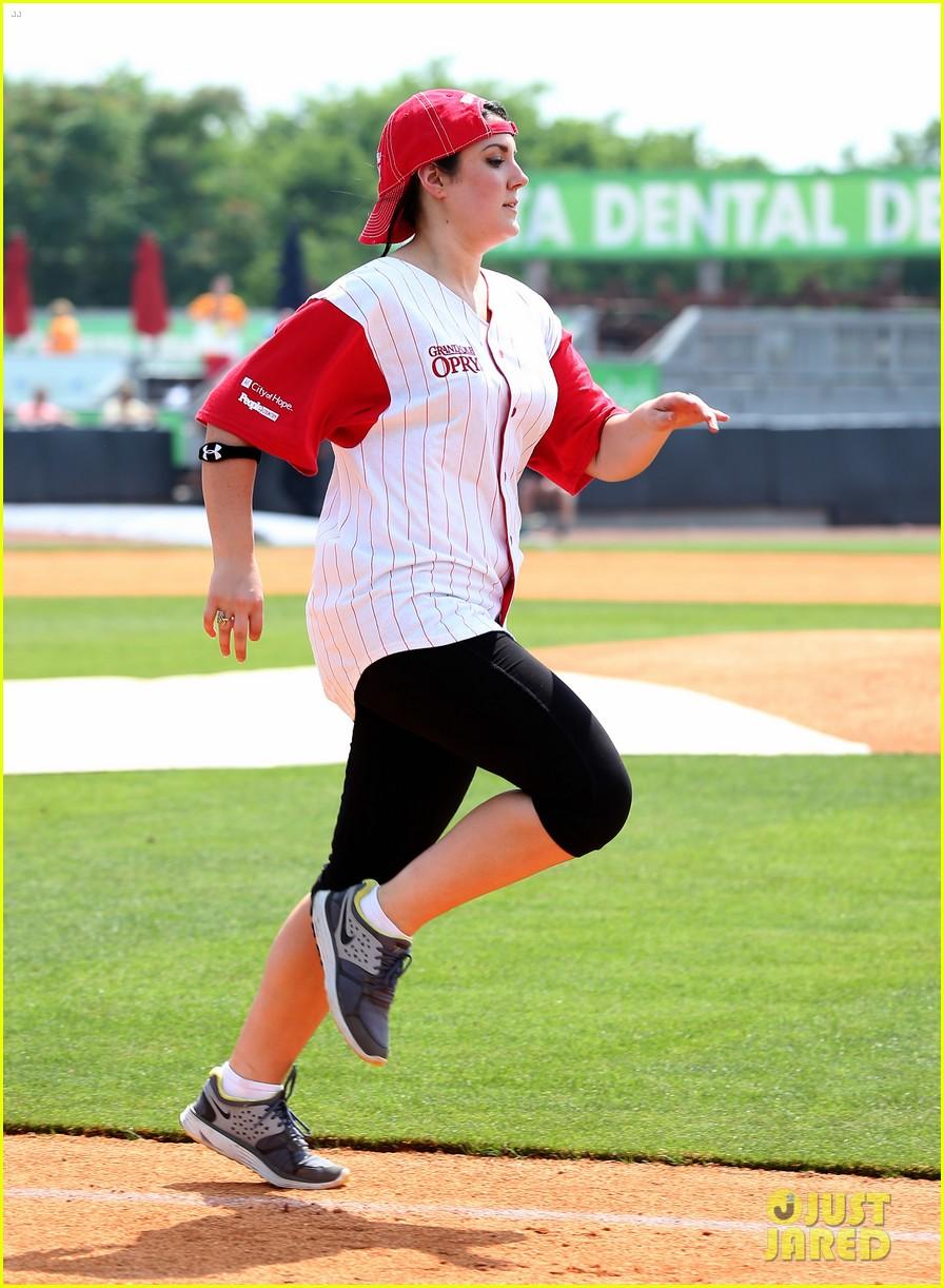 kree harrison lauren alaina celebrity softball with scotty mccreery 032887620