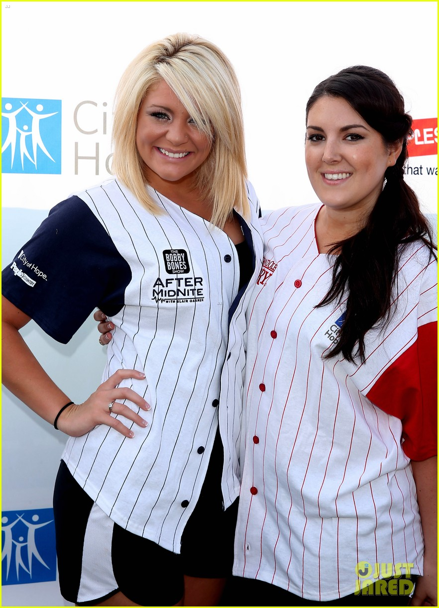 kree harrison lauren alaina celebrity softball with scotty mccreery 04