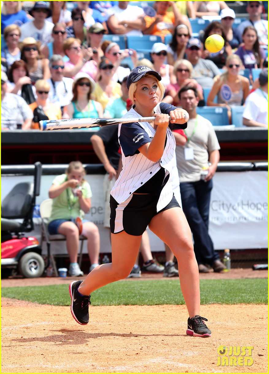 kree harrison lauren alaina celebrity softball with scotty mccreery 132887630