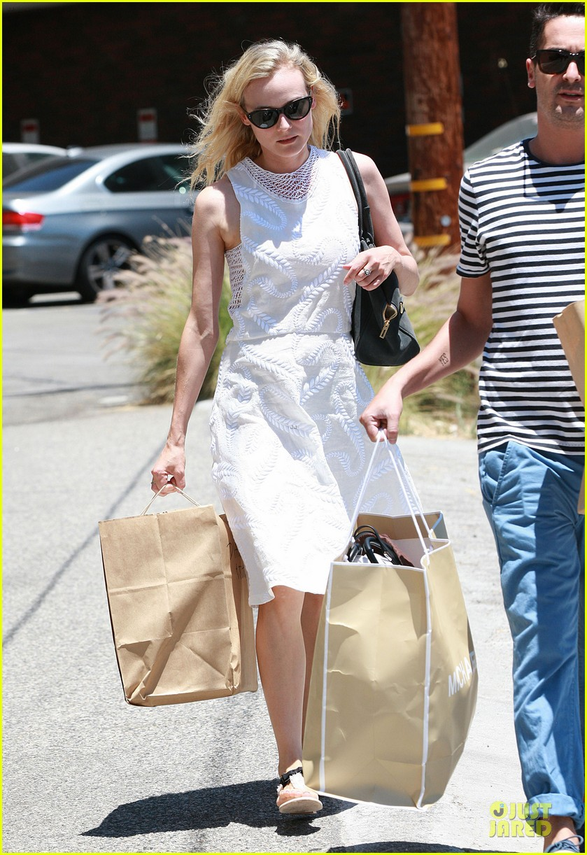 diane kruger michael kors shopping with micah schifman 11