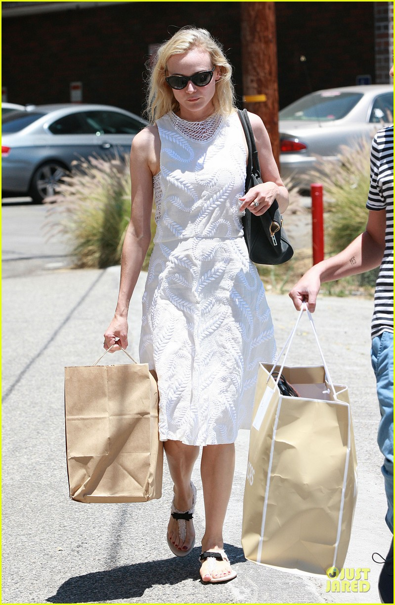 diane kruger michael kors shopping with micah schifman 132900140