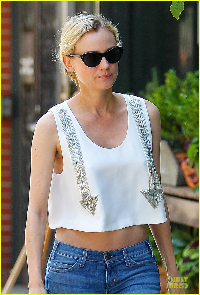 diane kruger midriff baring lunch with micah schifman 022891968