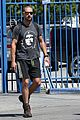 shia labeouf backpack carrying workout dude 03